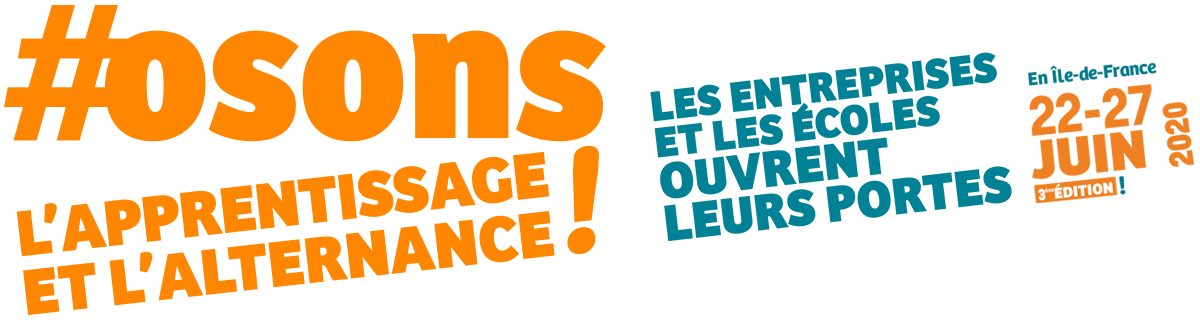 #osons l'apprentissage et l'alternance !